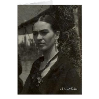 Frida Kahlo in Black Card