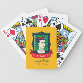 Frida Kahlo | Inspiración Bicycle Playing Cards