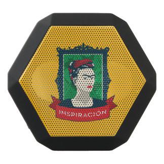Frida Kahlo   Inspiración Black Bluetooth Speaker