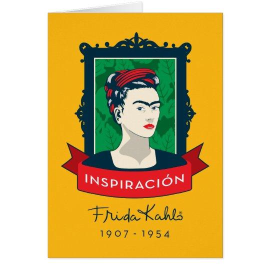 Frida Kahlo | Inspiración Card