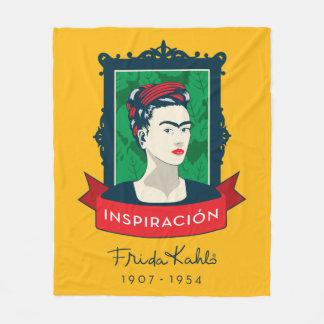 Frida Kahlo   Inspiración Fleece Blanket