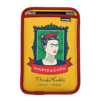 Frida Kahlo | Inspiración iPad Mini Sleeve
