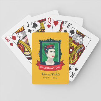 Frida Kahlo | Inspiración Playing Cards