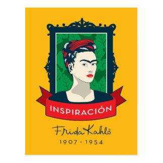 Frida Kahlo | Inspiración Postcard