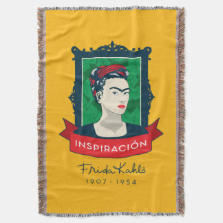 Frida Kahlo | Inspiración Throw Blanket