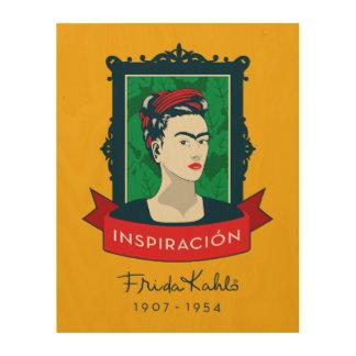 Frida Kahlo | Inspiración Wood Wall Art