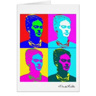 Frida Kahlo Inspired Portrait Card