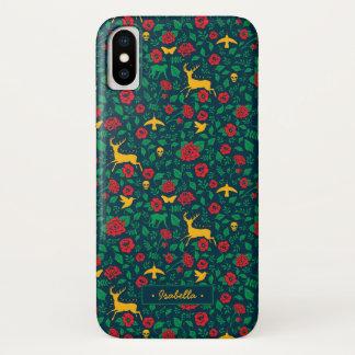 Frida Kahlo | Life Symbols iPhone X Case