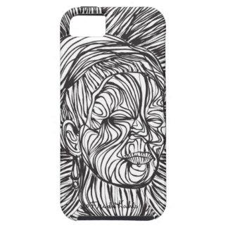 Frida Kahlo Lines Portrait iPhone 5 Covers