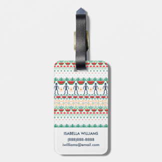 Frida Kahlo | Mexican Graphic Luggage Tag