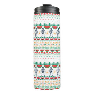 Frida Kahlo   Mexican Graphic Thermal Tumbler