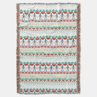 Frida Kahlo | Mexican Graphic Throw Blanket