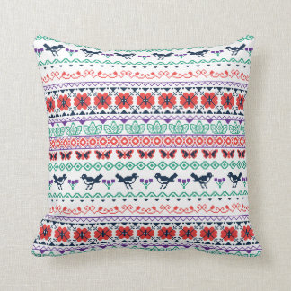 Frida Kahlo | Mexican Pattern Cushion