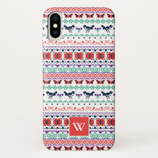 Frida Kahlo | Mexican Pattern iPhone X Case