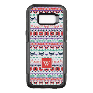 Frida Kahlo | Mexican Pattern OtterBox Commuter Samsung Galaxy S8+ Case