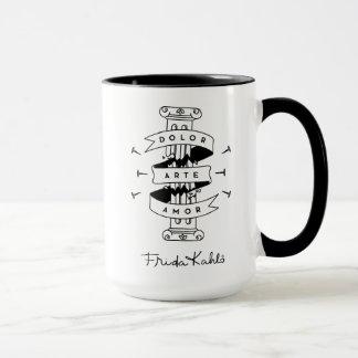 Frida Kahlo | Pain Art Love Mug