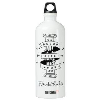Frida Kahlo | Pain Art Love Water Bottle