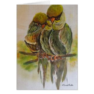 Frida Kahlo Painted Birds Card