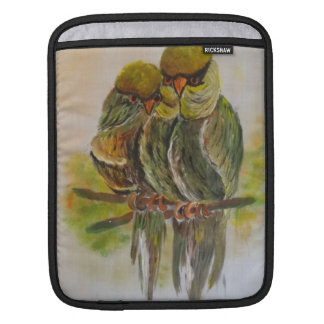 Frida Kahlo Painted Birds iPad Sleeve