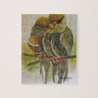 Frida Kahlo Painted Birds Jigsaw Puzzle