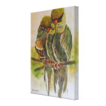 Frida Kahlo Painted Birds Stretched Canvas Print