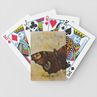 Frida Kahlo Painted Butterfly Bicycle Playing Cards