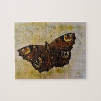Frida Kahlo Painted Butterfly Jigsaw Puzzle