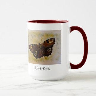 Frida Kahlo Painted Butterfly Mug