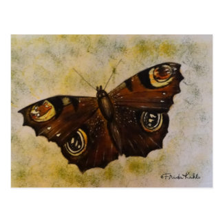 Frida Kahlo Painted Butterfly Postcard