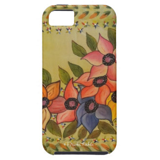 Frida Kahlo Painted Flores Case For The iPhone 5
