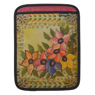 Frida Kahlo Painted Flores iPad Sleeve