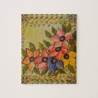Frida Kahlo Painted Flores Jigsaw Puzzle