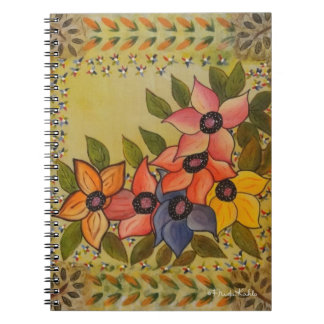 Frida Kahlo Painted Flores Notebooks