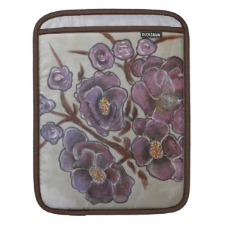 Frida Kahlo Painted Flowers iPad Sleeve