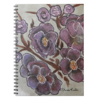Frida Kahlo Painted Flowers Notebook