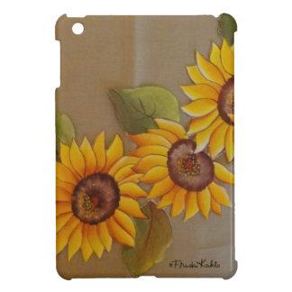 Frida Kahlo Painted Sunflowers iPad Mini Cases