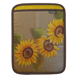 Frida Kahlo Painted Sunflowers iPad Sleeve