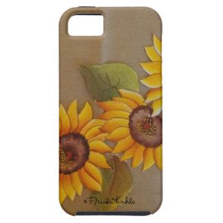 Frida Kahlo Painted Sunflowers iPhone 5 Case