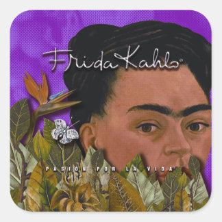 Frida Kahlo Pasion Por La Vida 2 Square Sticker