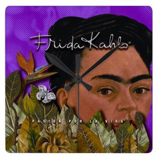 Frida Kahlo Pasion Por La Vida 2 Wallclock