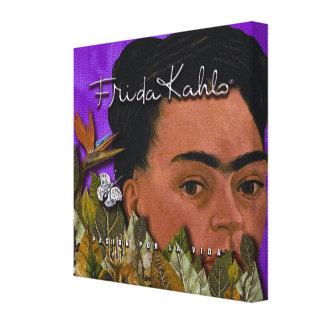 Frida Kahlo Pasion Por La Vida Canvas Print