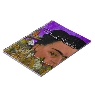 Frida Kahlo Pasion Por La Vida Notebook