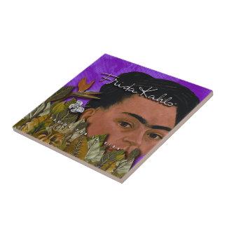 Frida Kahlo Pasion Por La Vida Small Square Tile