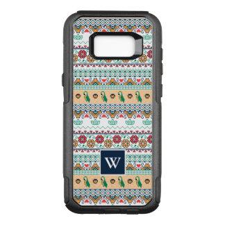 Frida Kahlo | Patrón de Colores OtterBox Commuter Samsung Galaxy S8+ Case