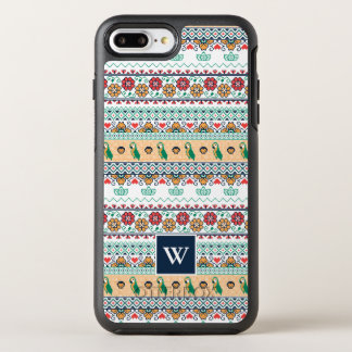 Frida Kahlo | Patrón de Colores OtterBox Symmetry iPhone 8 Plus/7 Plus Case