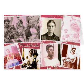Frida Kahlo Photo Montage Card