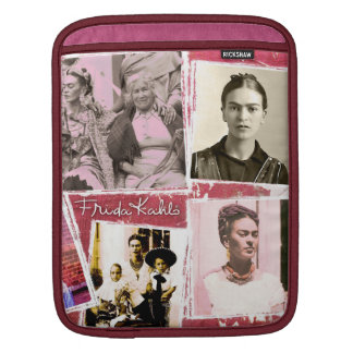 Frida Kahlo Photo Montage iPad Sleeve