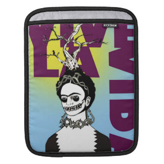 Frida Kahlo Pop Art Portrait iPad Sleeve