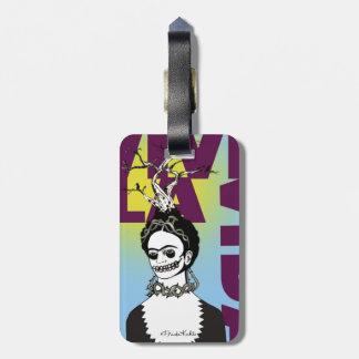 Frida Kahlo Pop Art Portrait Luggage Tag