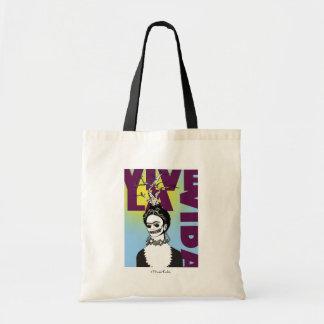 Frida Kahlo Pop Art Portrait Tote Bag